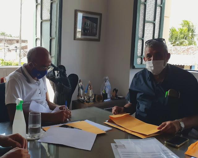 Presidente da Câmara se reúne com Prefeito de Goiana
