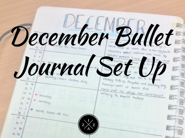 December Bullet Journal Set Up