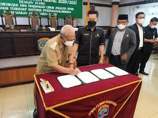 Rapat Paripurna XXIV DPRD Kota Tarakan Masa Persidangan III