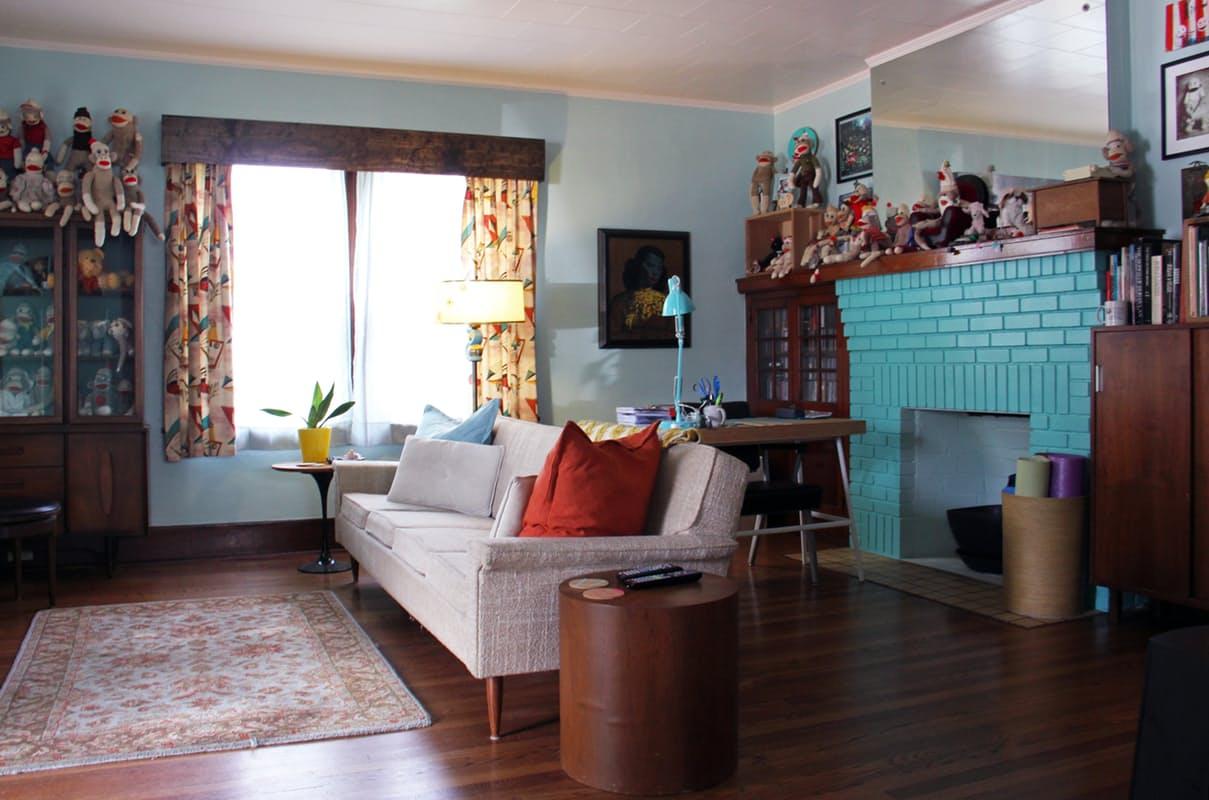 Die wohngalerie fifties reloaded aber auf amerikanisch - Faust wandfarbe ...