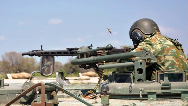 Βολές πολυβόλων όπλων στο Πεδίο Βολής «Αετός» Αλεξανδρούπολης