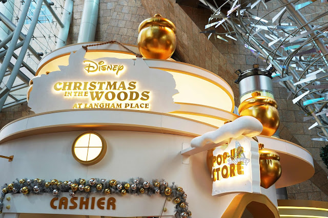 迪士尼聖誕森林 Disney CHRISTMAS IN THE WOODS Langham Place
