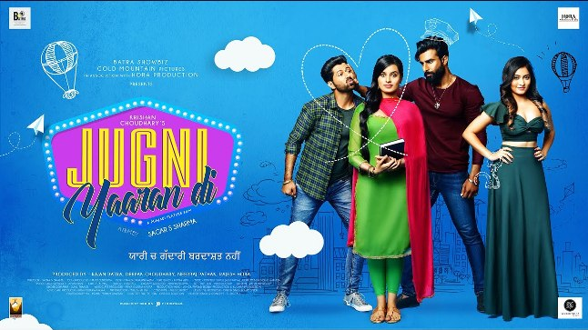 Jugni Yaaran Di next upcoming punjabi movie first look movie Preet, Deep, Mahima, Siddhi Poster of download first look, release date