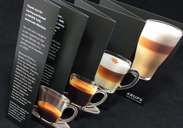 In nhanh Brochure đẹp tại xưởng Hà Nội, thiết kế Brochure độc đáo chuyên nghiệp KRUPS