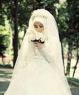 فساتين زفاف العروسة للمحجبات يوم الفرح