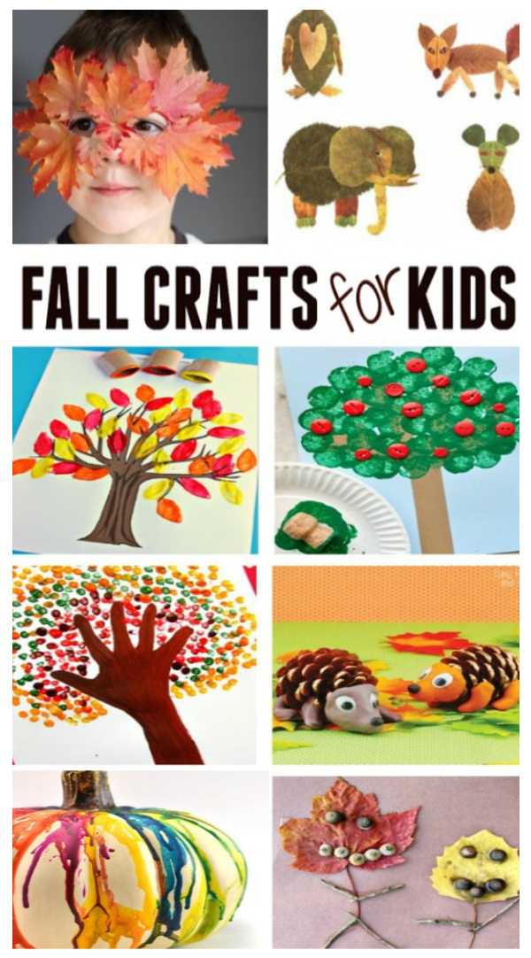 Autumn crafts and activities for kids! #fallcrafts #fallactivitiesforkids #fallartprojects #growingajeweledrose #activitiesforkids