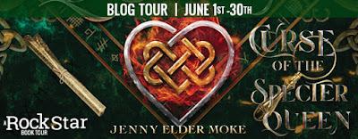 Blog Tour– Curse of the Spectre Queen by Jenny Elder Moke