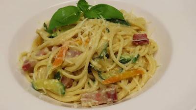 Kako Napraviti Carbonaru s Tikvicama | Zucchini Carbonara Recipe