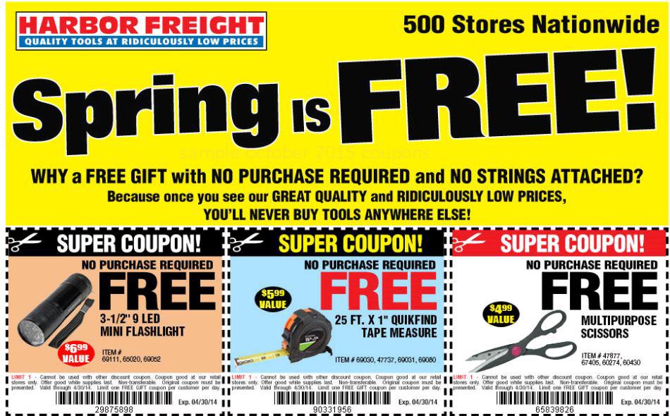 Harbor freight super coupons toolbox - Tradetang coupon code