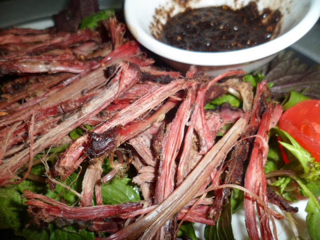 Dried Buffalo Meat - Dishes From Ethnic Minorities in Northern Vietnam