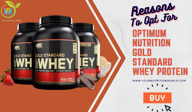 reasons to opt for optimum nutrition gold standard whey protein