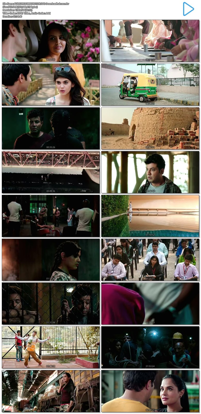 Fukrey Returns 2017 Hindi 720p HEVC HDRip
