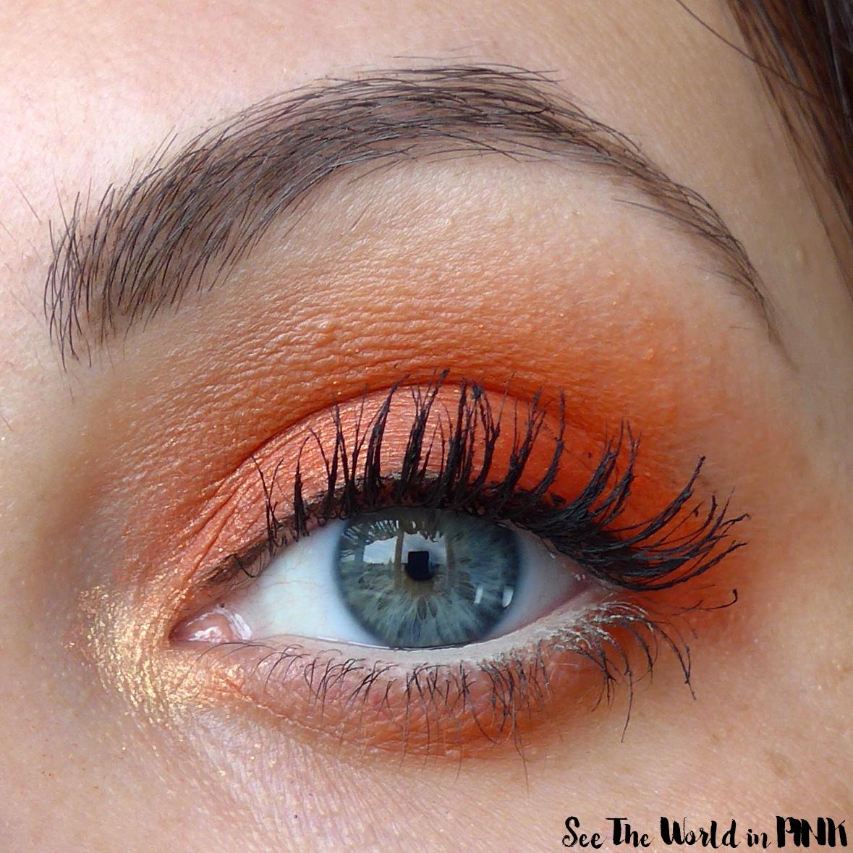 Fun, Orange and Summery ColourPop Look!
