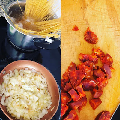 spaguettis-chorizo