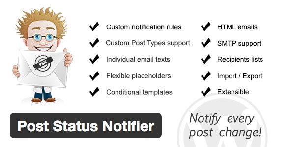 Post Status Notifier v1.9.5