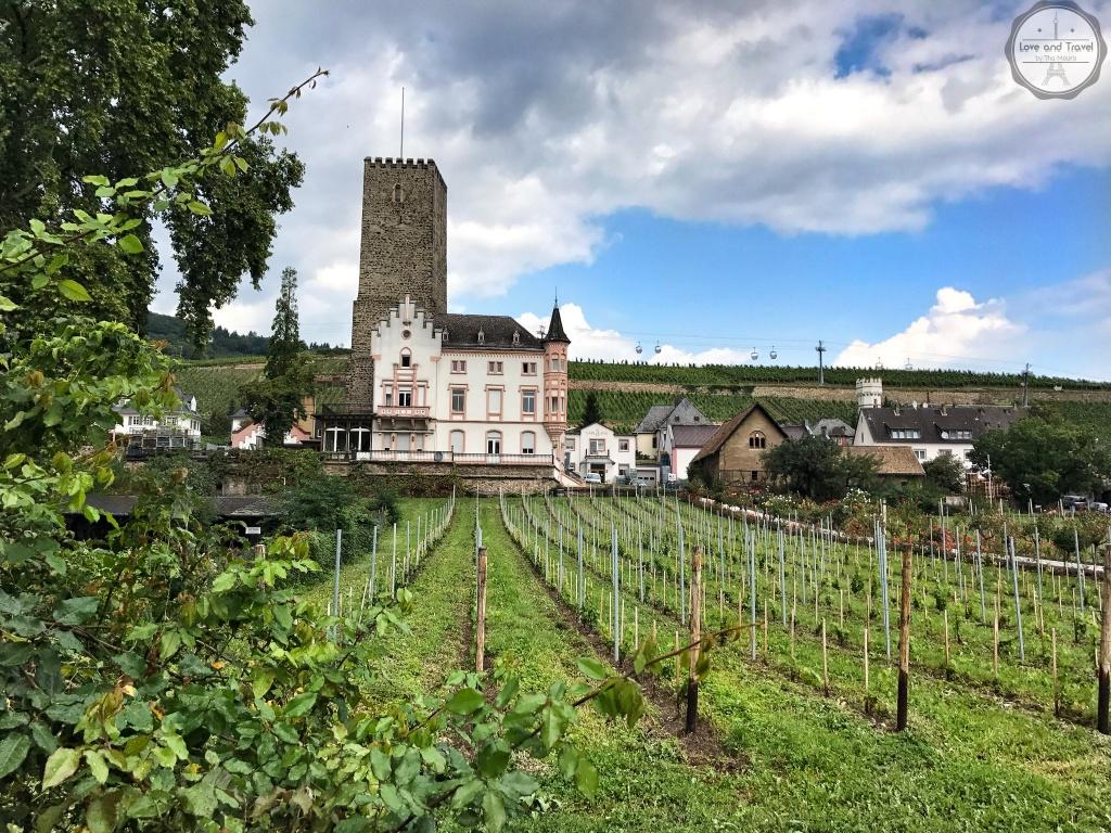 Rüdesheim am Rhein. Alemanha Rota do Reno
