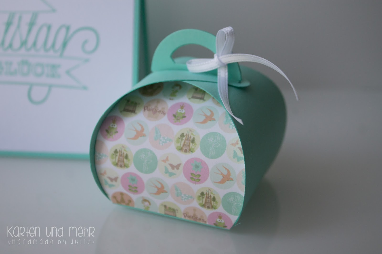 Stampin Up Zierschachtel