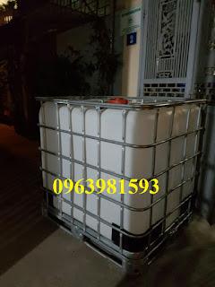 Bồn đựng hóa chất, thùng đựng hóa chất, thùng chứa giá rẻ