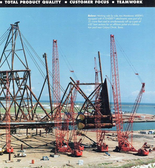 Industrial History: Manitowoc's 4600 Stinger, 7000, and 16000