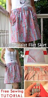 Tutorial: Elastic-Waist Flirt Skirt
