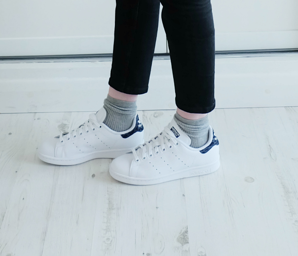 adidas stan smith with socks