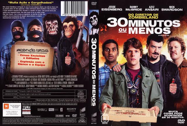 Capa DVD 30 MINUTOS OU MENOS
