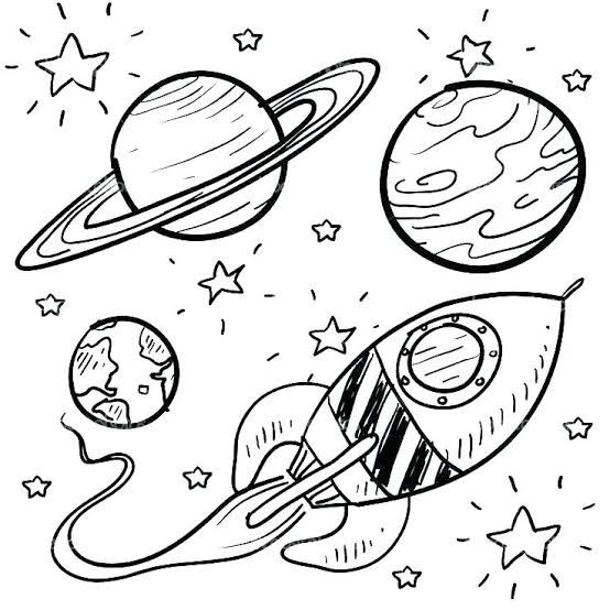 Solar System Coloring Pages Solar System Pics