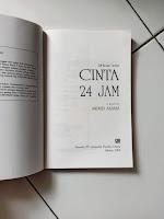 Cinta 24 Jam Penulis Andrei Aksana