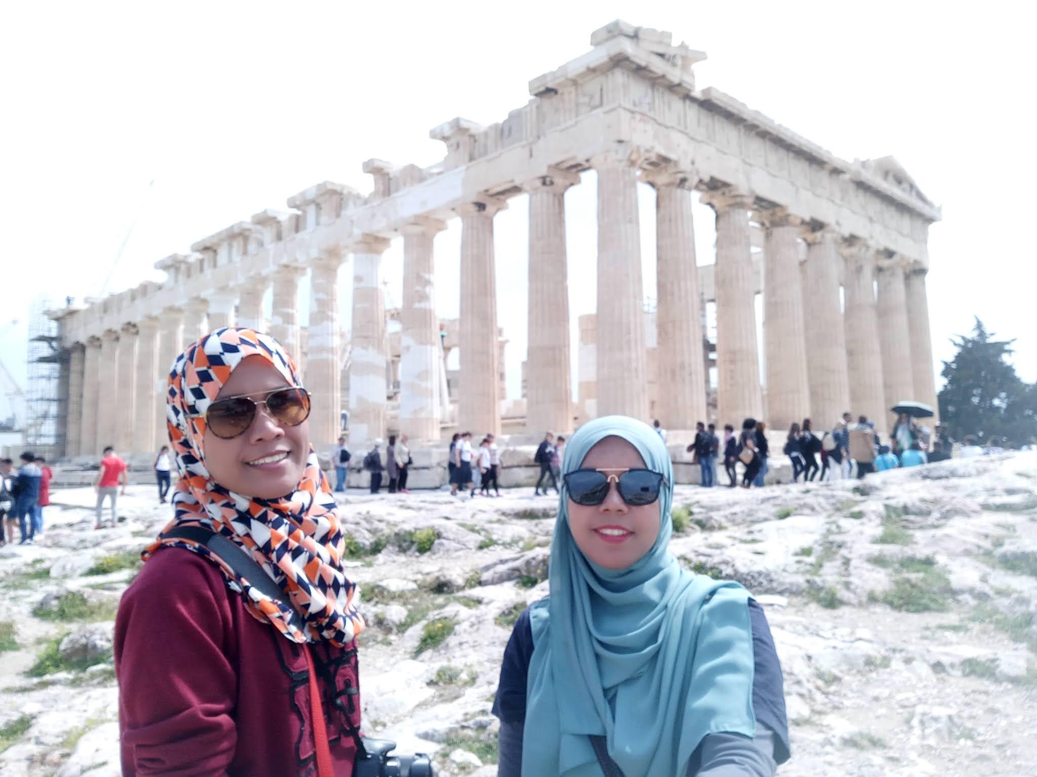 Travelog Greece, Athens: Acropolis The Parthenon