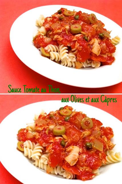 1 recette de sauce tomate sauce tomate au thon aux olives et aux c pres. Black Bedroom Furniture Sets. Home Design Ideas