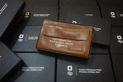 Jual Pouch Kulit di Medan Custom