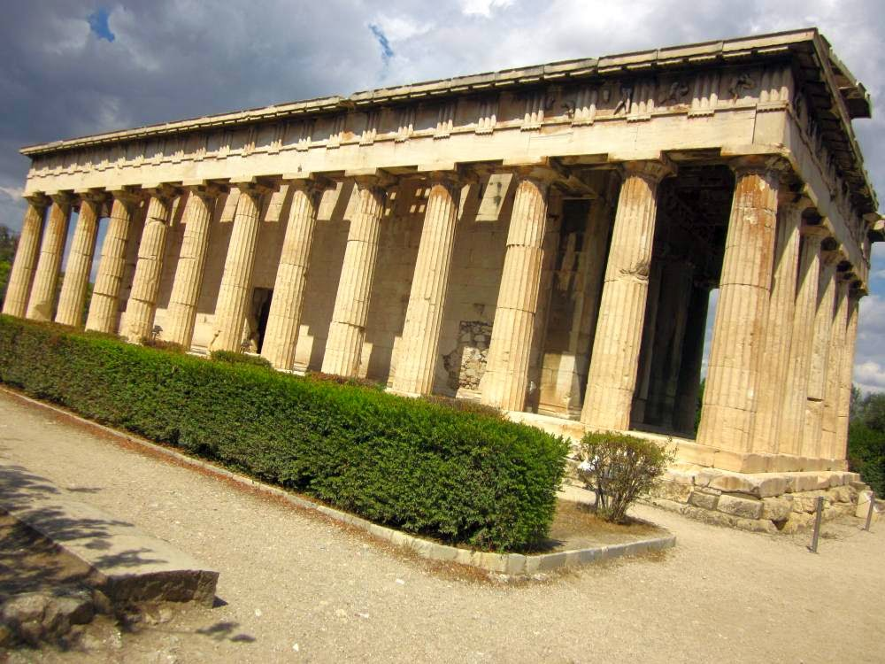 Temple of Hephaistos in the Ancient Agora of Athens