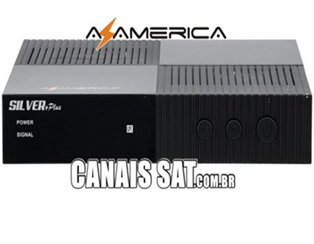 Azamerica Silver + Plus Atualização V1.25 - 04/04/2021
