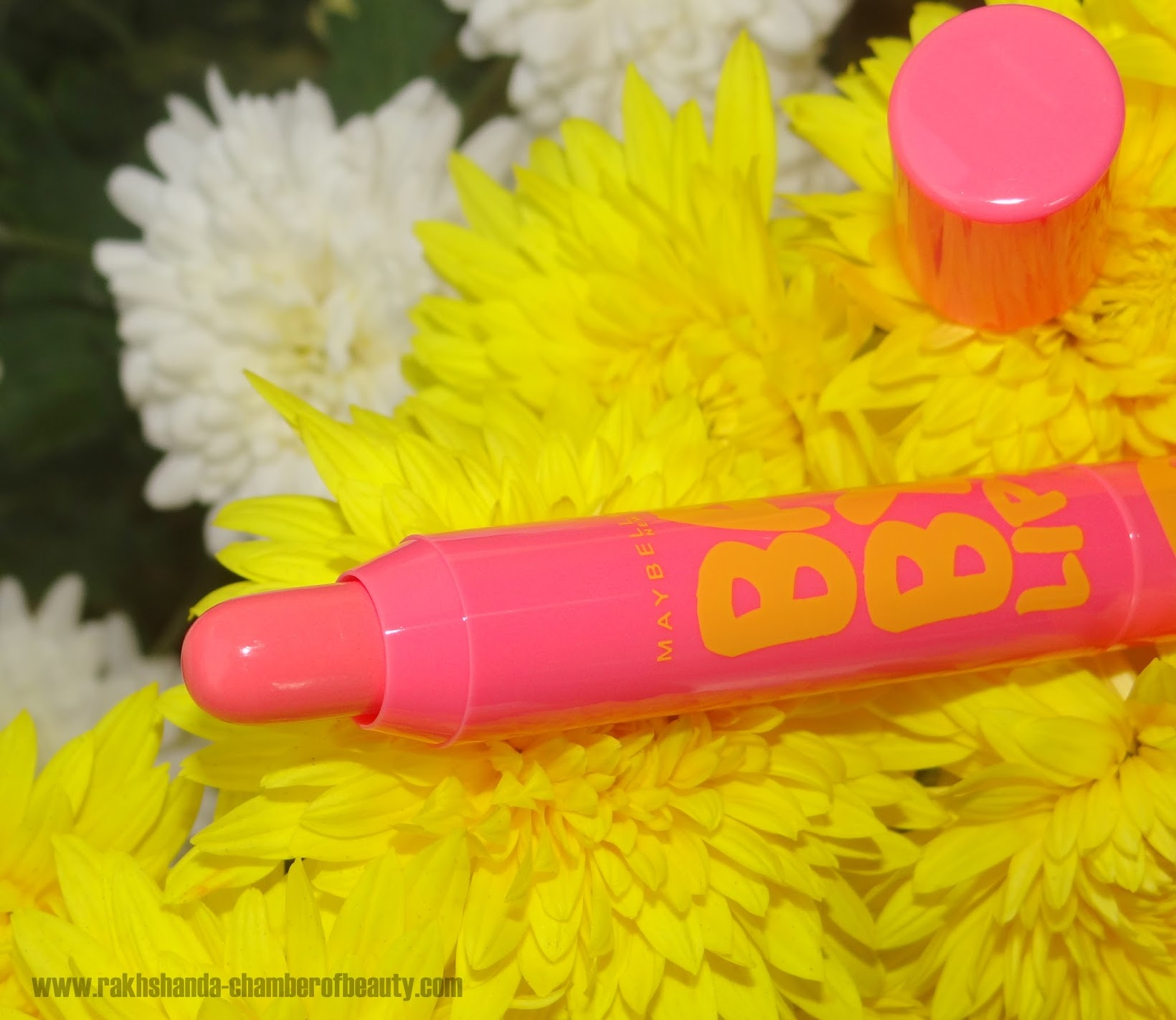 Maybelline Baby Lips Candy Wow Peach Review Swatches