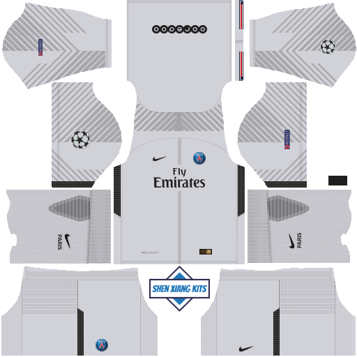 Kit Dls Psg 2019 Ucl | chelsea 2018 19 league soccer kits 512x512