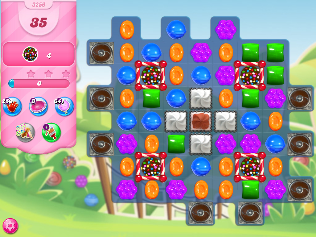 Candy Crush Saga level 3256