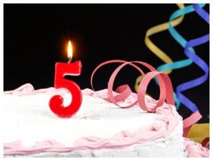 5 anos de blog