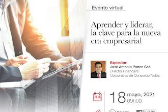 Alumni Talk: Aprender y liderar, la clave para la nueva era empresarial con José Antonio Ponce - Director de NOBIS