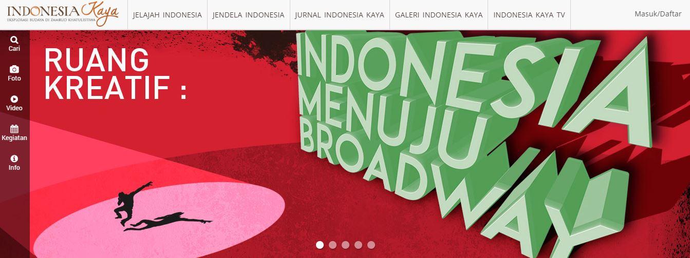 Portal Indonesia Kaya - Situs Budaya Indonesia