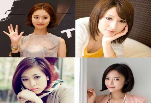 7 Model Rambut Bob Ala Cewek Korea Yang Imut dan Cantik