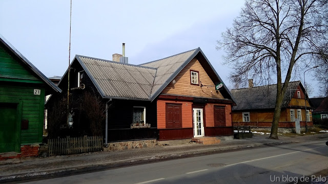 Calles de Trakai hasta llegar al Castillo
