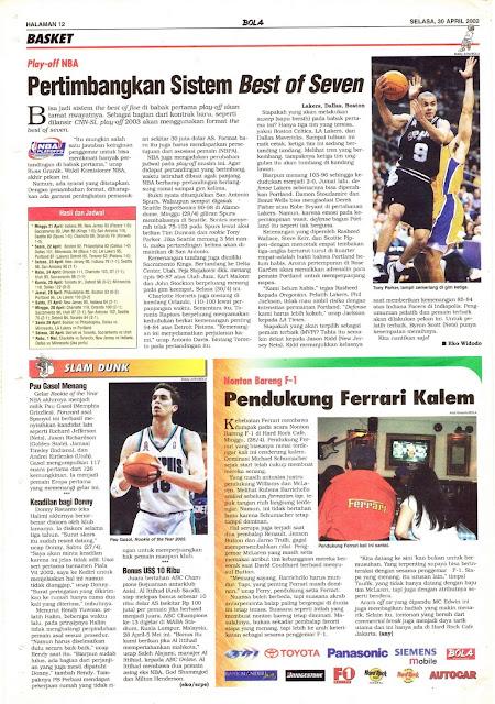 PLAY-OFF NBA PERTIMBANGKAN SISTEM BEST OF SEVEN