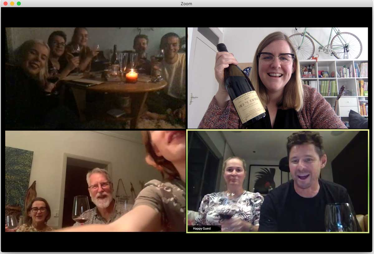 Virtual Wine Tasting with Wine Dine Caroline