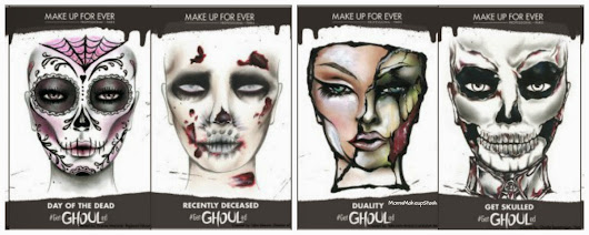 Make Up For Ever (MUFE) Inspires with #GetGlammed or #GetGhouled Artistic Looks for Halloween!  - Moms Makeup Stash - A Beauty/Lifestyle Blog