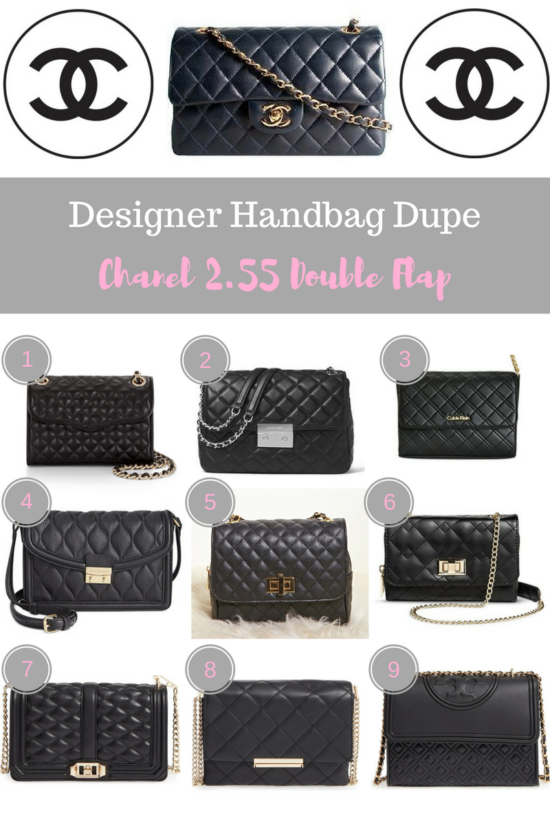 Designer Handbag Dupes: Chanel 2.55 Double Flap