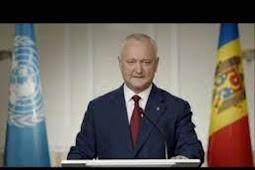 Inilah Isi Pidato Presiden Moldova, Igor Dodon Saat Berbicara di Debat Umum PBB ke 75