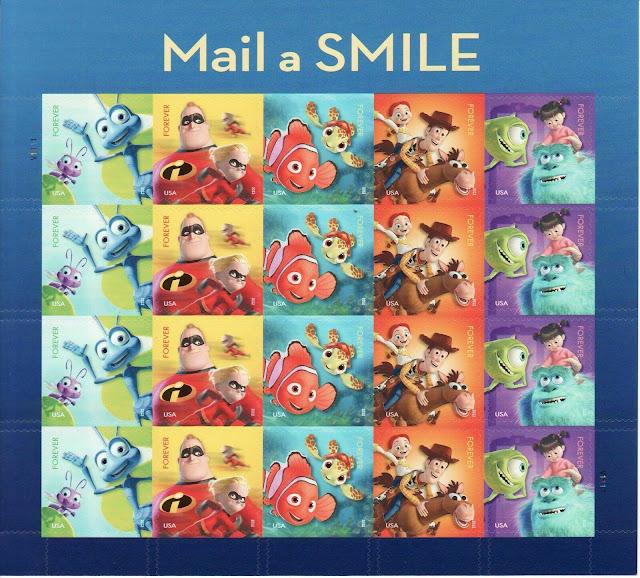 Pixar mail a smile sheet