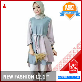 SUP1052I12 Inaka Long Top Atasan Tunik Terlaris BMGShop