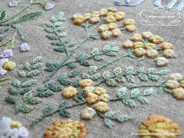 Sadako Totsuka, садако тоцука, садако тотцука, японская вышивка, гладь, вышивка цветы и травы