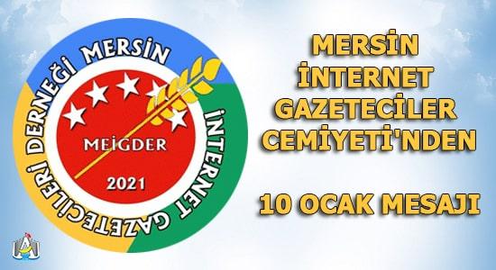 Mersin İnternet Gazetecileri Derneği ,Mersin Haber,